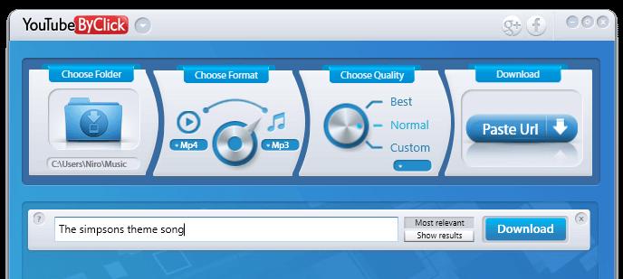 <b>Escrever o nome da música/vídeo</b> que deseja Baixar na caixa branca e premir <b>ENTER</b>
